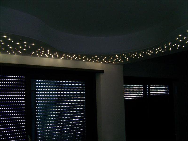 Plafoniera Led Cielo Stellato : Cielo stellato appartamento priverno u metfibreottiche