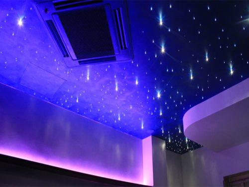 cielo stellato e swarovski