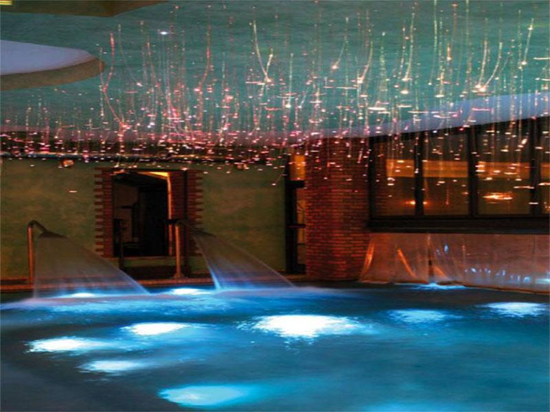 fibre ottiche piscina